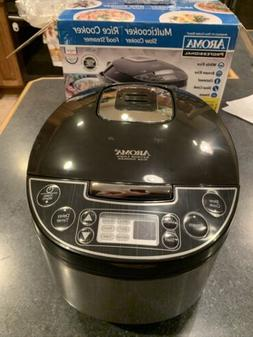 Aroma Professional Multicooker Rice cooker Slow Cooker Food