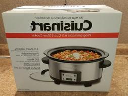 Cuisinart Programmable 6.5 Quart Slow Cooker PSC-625 NEW IN