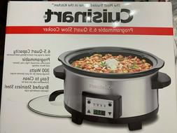 Cuisinart Programmable 6.5 Quart Slow Cooker PSC-625