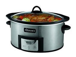 Crock-Pot Programmable 6-Quart Slow Cooker w/Dipper & Recipe