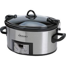 Crock-Pot 6 Qt. Programmable Cook & Carry Slow Cooker with D