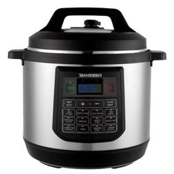 Programmable Electric Pressure Instant Pot Multi Cooker 8-Qu
