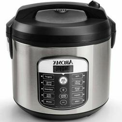 Programmable Multicooker Rice Slow Cooker Aroma 20-Cup Digit