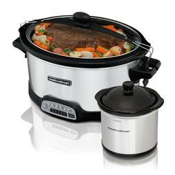 Hamilton Beach Programmable Slow Cooker, Pressure Cooker, &
