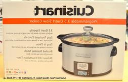 Cuisinart PSC-350 3.5 Quart Programmable Slow Cooker