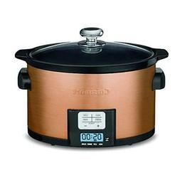 Cuisinart PSC-350CPP 3.5 Quart Programmable Slow Cooker, Cop