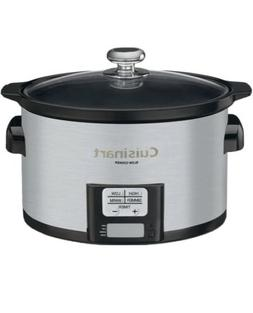 Cuisinart PSC-350FR Programmable Slow Cooker , 3-1/2 quart,