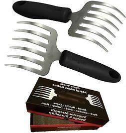 Cave Tools Pulled Pork Shredder Claws - Stainless Steel BBQ