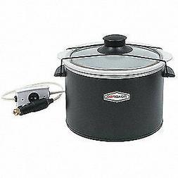 ROADPRO Quart Slow Cooker,Auto Travel,12V, RPSL-350