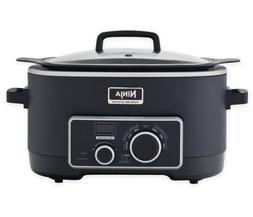 Ninja 3-in-1 6 Quart Stovetop, Oven, & Slow Cooker Cooking S
