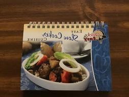 Quick & Easy Mini Cookbook Easy Slow Cooker Cuisine 2008 Ove