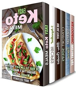 Quick and Simple Box Set : Over 190 Keto, Slow Cooker, 5-Ing