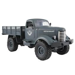 NEW!!Gbell RC Cars Off-Road Military Vehicle Truck, 4 WD 1:1