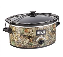 Weston Realtree 5 Quart Slow Cooker