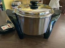 Saladmaster Regal Ware Multi-Purpose 5 Qt Electric Cooker SA