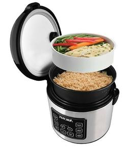 Rice Cooker Food Steamer Slow Cook Steam Digital 20 Cup Cook