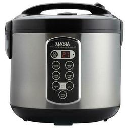 AROMA 20-Cup Rice Cooker Removable Non-Stick Inner Pot and a