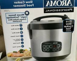 Aroma Professional Rice Cooker Slow Cooker Food Steamer
