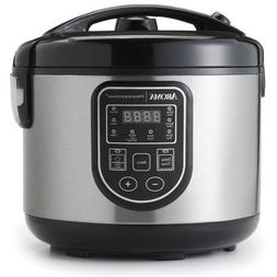Aroma 16-Cup Rice Cooker, Slow Cooker, & Food Steamer