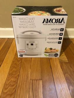 AROMA Rice Multi Cooker Food Steamer Slow Cooker 4-12 Cups A