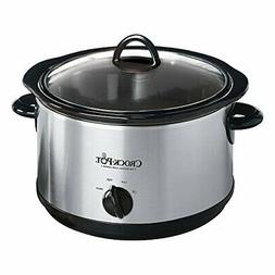 Sunbeam Rival Cooker Slow Man Round 4. 5Qt Ss SCR450-S