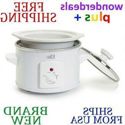 Elite Cuisine 1.5-qt. Round Slow Cooker