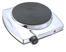 Royal Premium 1000W Hot Plate Burner - Portable Smart Shut o
