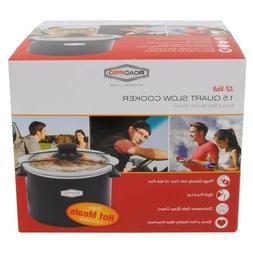 RoadPro RPSL-350 12V 1.5 Quart Slow Cooker Multi-Colored