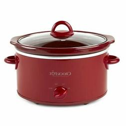 SA RP 4 qt Oval manual red slow cooker