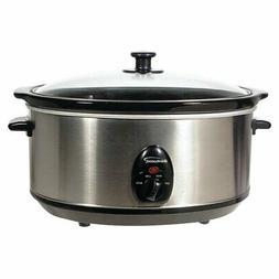 Brentwood SC-150S Slow Cooker - 6.5 qt.