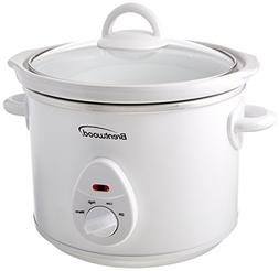 Brentwood Sc-135W 3 quart 200W Slow Cooker White Body Home &