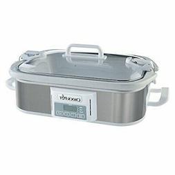 Crock-Pot SCCPCCP350-SS 3.5Qt Programmable Casserole Slow Co