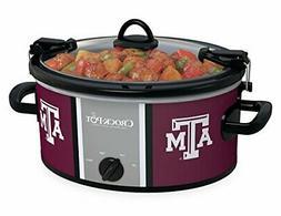 Crock-pot SCCPNCAA600-TAM Texas A&M 6 quart Cook and Carry S