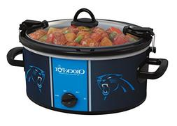 Crock-pot SCCPNFL600-CP Electric Cooking, Silver/Blue/Black