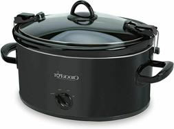 Crock-Pot SCCPVL600-B Cook N Carry Oval Manual Slow Cooker,