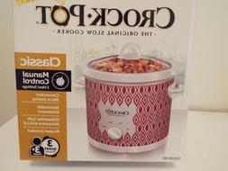 Crock-Pot SCR300-RD SCR300 Slow Cooker, Red