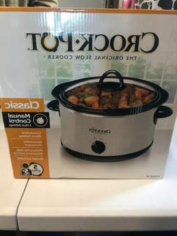 Crock-Pot SCR500-sp 5-Qt. Manual Slow Cooker