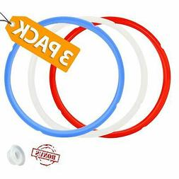 Sealing Ring 3 Pack Silicone For Instant Pot Accessories 5/6