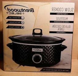 Brentwood Select SC-157BK 7 Quart Slow Cooker Ceramic Pot 3