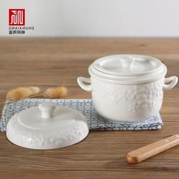 Shunxiang <font><b>Ceramic</b></font> Stew Tureen Stew Pot S