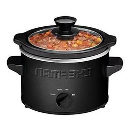 Chefman Slow Cooker, 1.5 quart for 2+ People, Fits 2 lb Roas