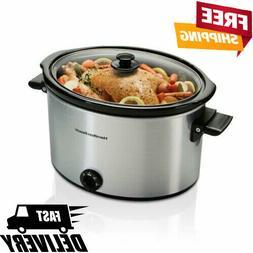 Hamilton Beach Slow Cooker 10 Quart Large Crock Pot Kitchen