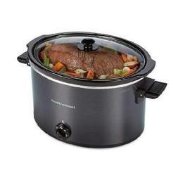 Hamilton Beach Slow Cooker 10 Quart Large Crock Pot Stonewar