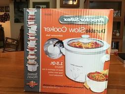 Slow Cooker*Proctor Silex*3 Quart Capacity*New In Box*Remova