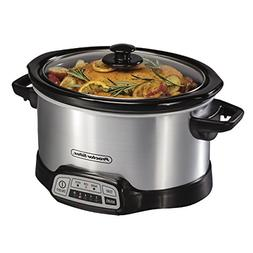 Proctor Silex 33442 Slow Cooker, Silver