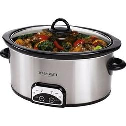 Slow Cooker Crock Pot Programmable 7 Quart