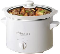 Crock-Pot SCPQK5025W 220 Volts  Slow Cooker, 2.4 Litre, Whit