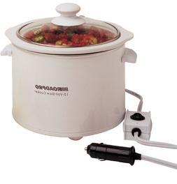 RoadPro® 12-Volt 1.5-qt. Capacity Slow Cooker