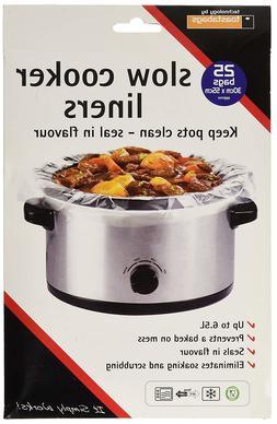 Toastabags Slow Cooker Liner, Croc Pot Protection Transparen