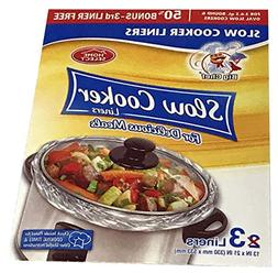 slow cooker liners fit oval